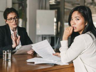 Angst vor Bewerbungsgespräch