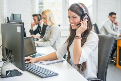 Bewerbung Call Center