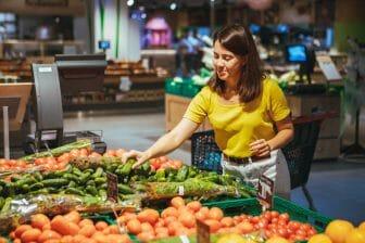 Bewerbung Supermarkt