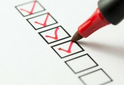 Checkliste Bewerberinterview